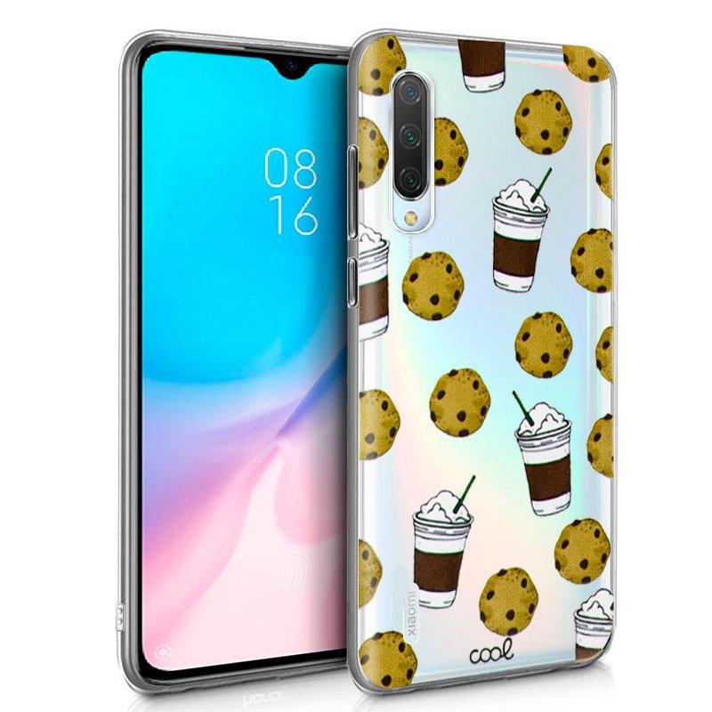 Carcasa Xiaomi Mi 9 Lite Clear Cookies