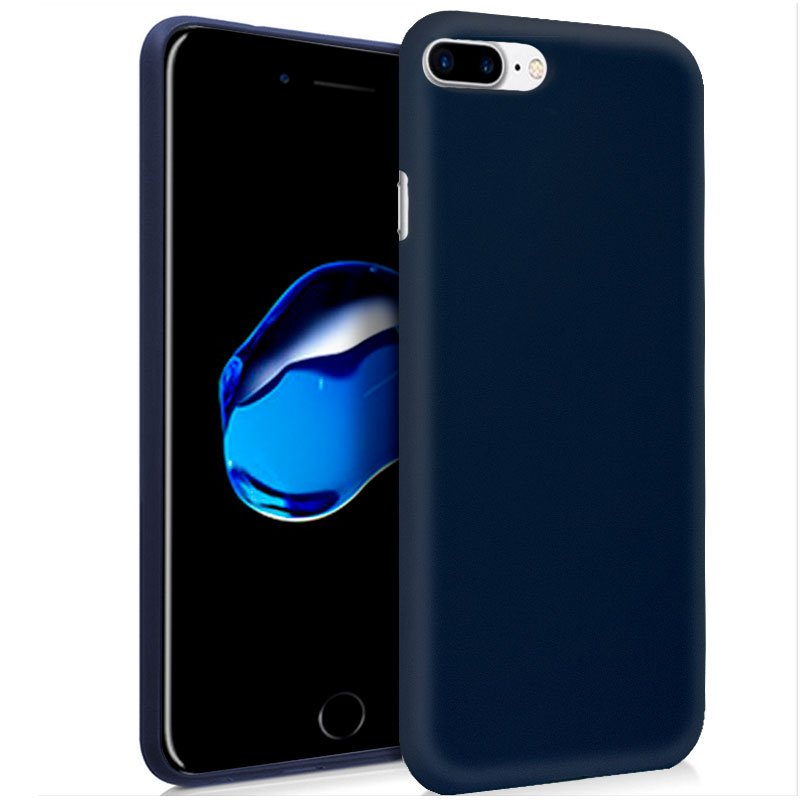 Funda Silicona iPhone 7 Plus / iPhone 8 Plus (Azul)