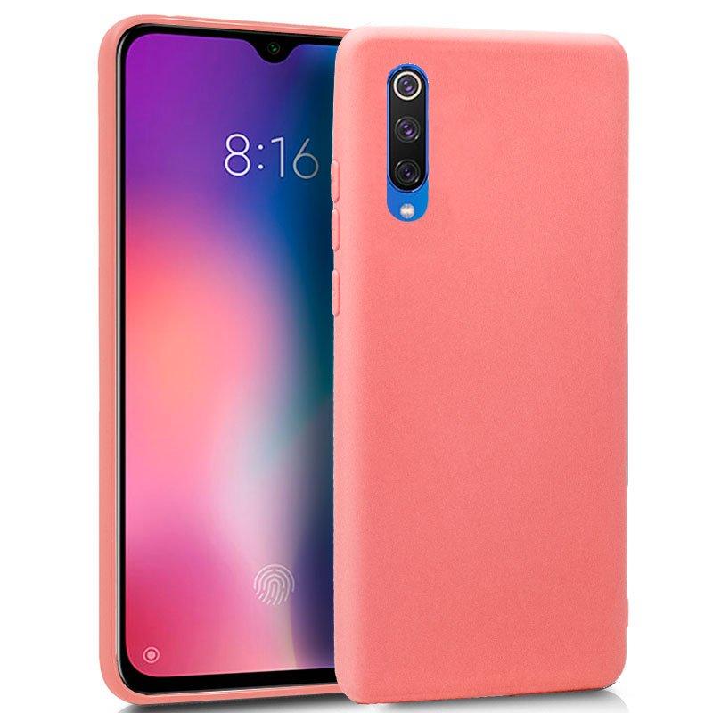 Funda Silicona Xiaomi Mi 9 SE (Rosa)