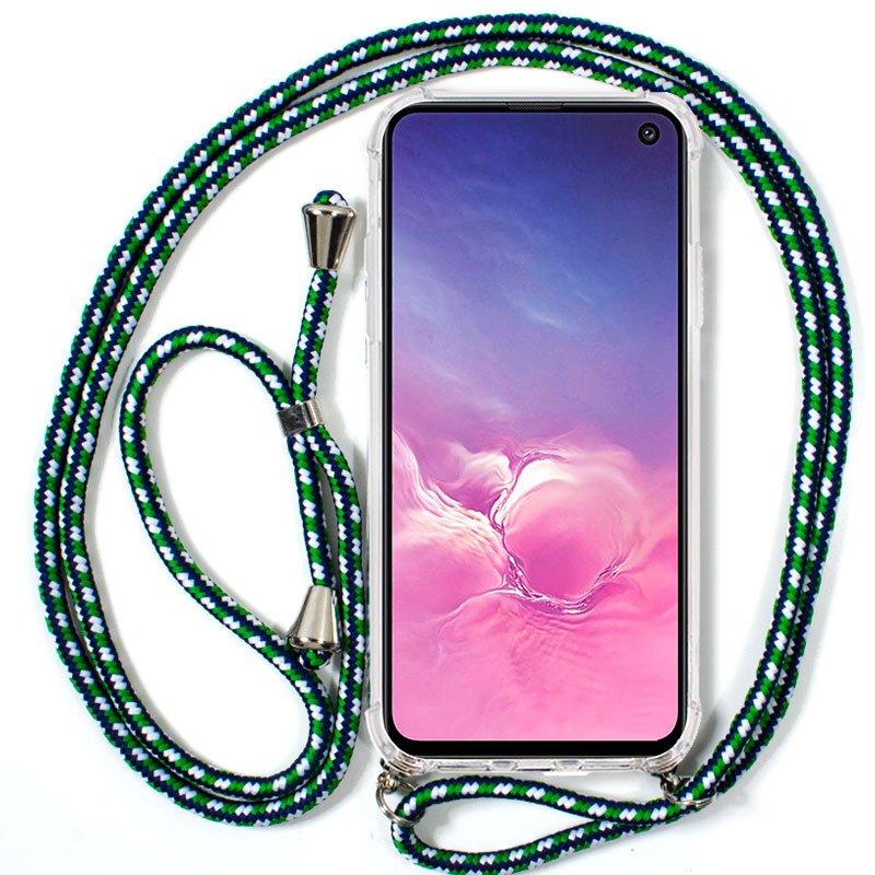 Carcasa Samsung G970 Galaxy S10e Cordón Verde