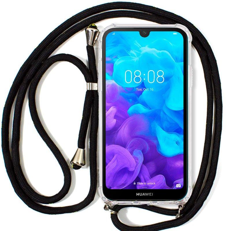 Carcasa Huawei Y5 (2019) Cordón Negro