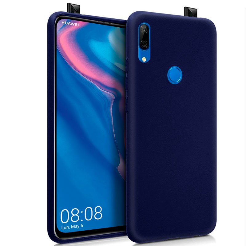 Funda Silicona Huawei P Smart Z / Honor 9X (Azul)
