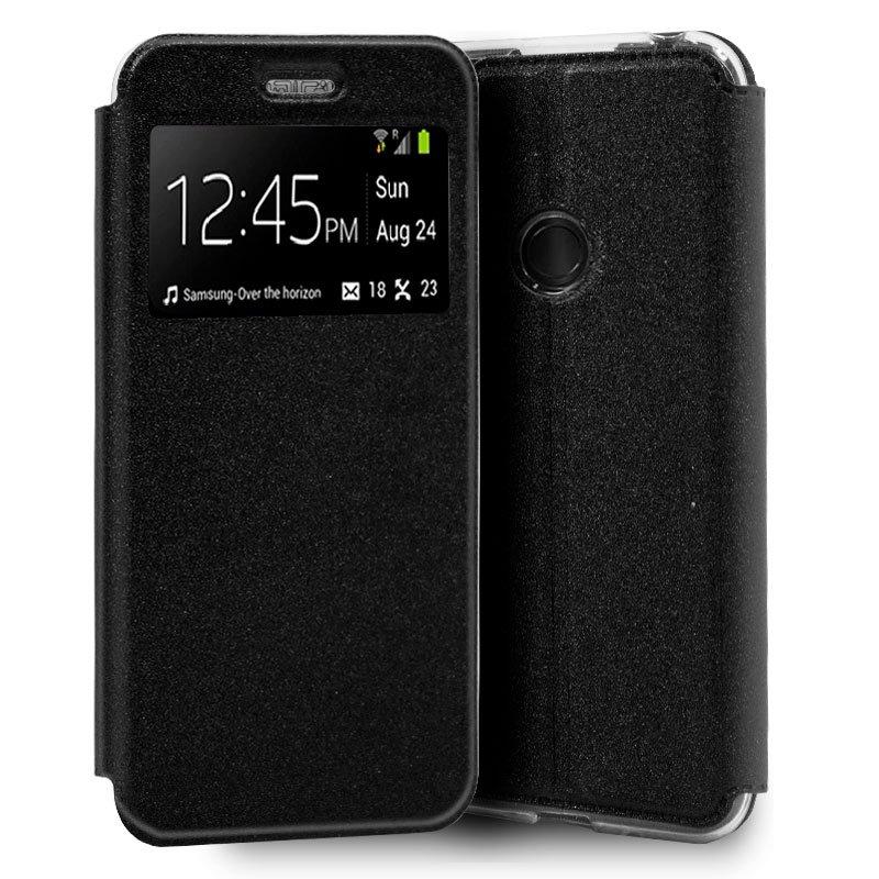 Funda Flip Cover Xiaomi Redmi Note 8 Liso Negro