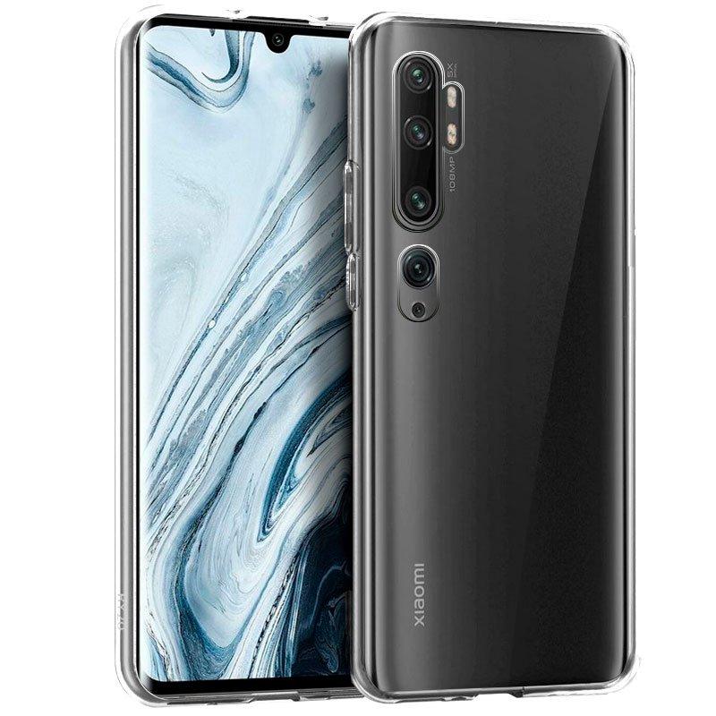 Funda Silicona Xiaomi Mi Note 10 (Transparente)