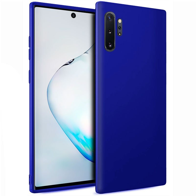 Funda Silicona Samsung N975 Galaxy Note 10 Plus (Azul)