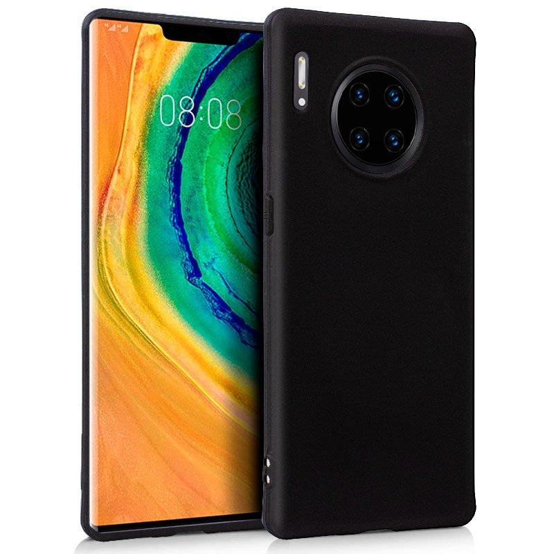 Funda Silicona Huawei Mate 30 Pro (Negro)