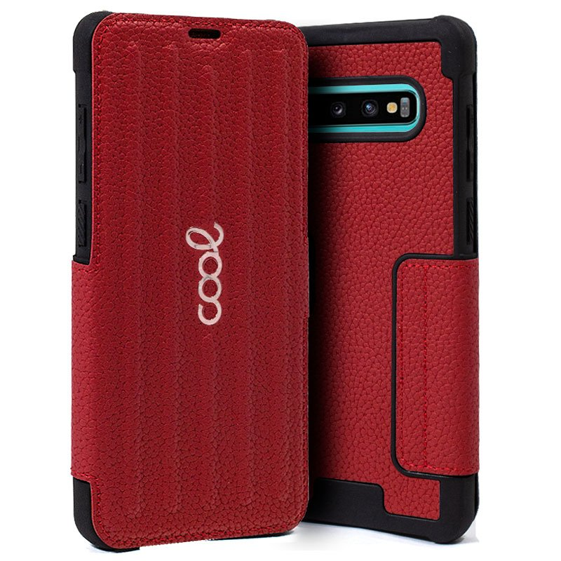 Funda Flip Cover Samsung G975 Galaxy S10 Plus Texas Rojo