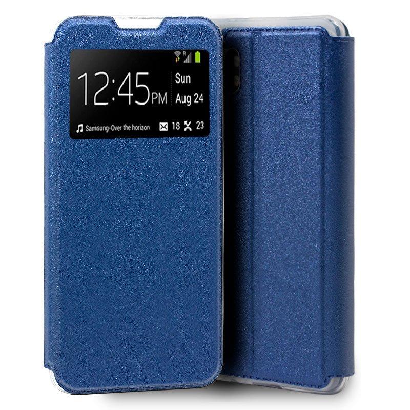 Funda Flip Cover Xiaomi Mi Note 10 / Mi Note 10 Pro Liso Azul