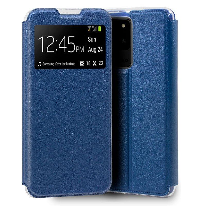 Funda Flip Cover Samsung G988 Galaxy S20 Ultra 5G Liso Azul
