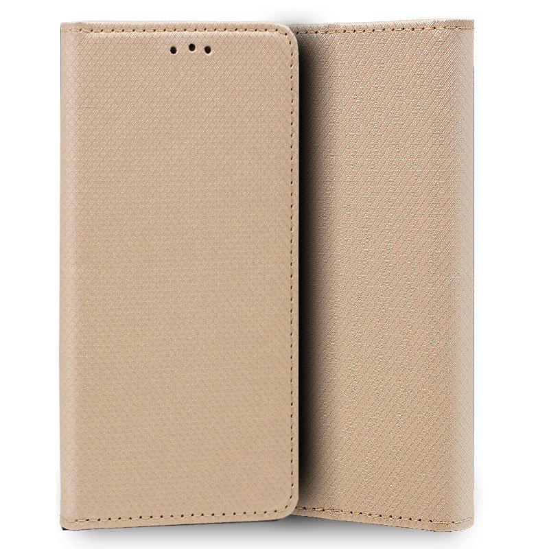 Funda Flip Cover Xiaomi Mi 9 Lite Liso Beige