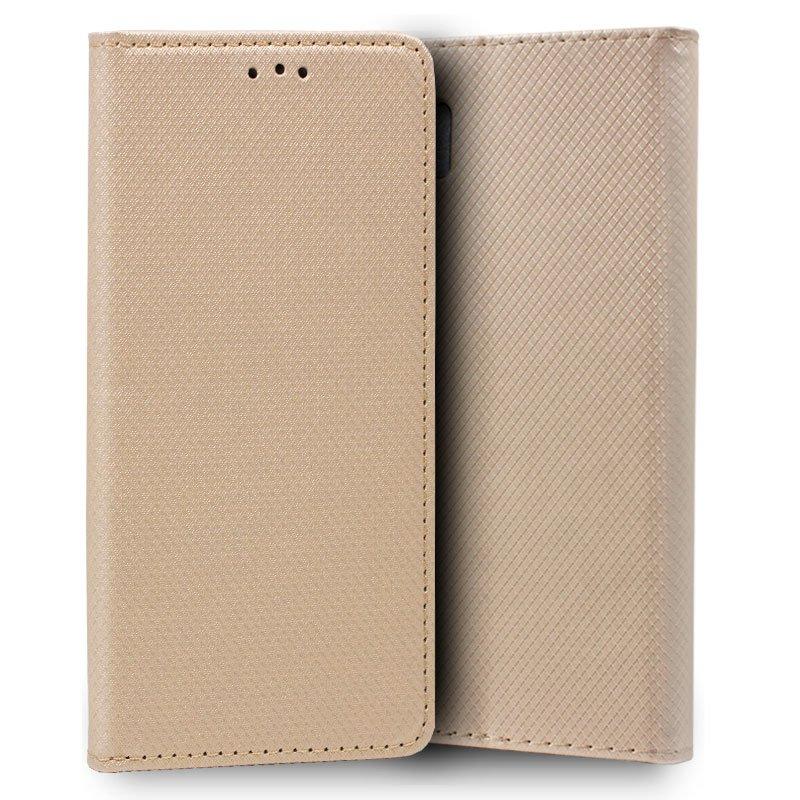 Funda Flip Cover Samsung N975 Galaxy Note 10 Plus Liso Beige