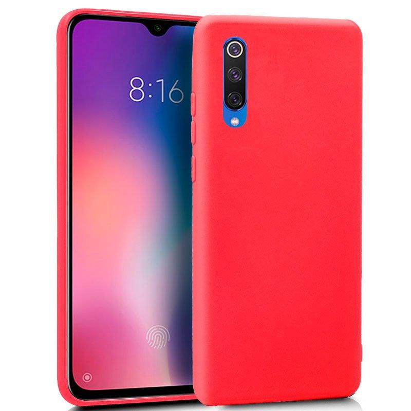 Funda Silicona Xiaomi Mi 9 SE (Rojo)