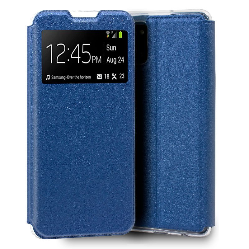 Funda Flip Cover Samsung N770 Galaxy Note 10 Lite Liso Azul
