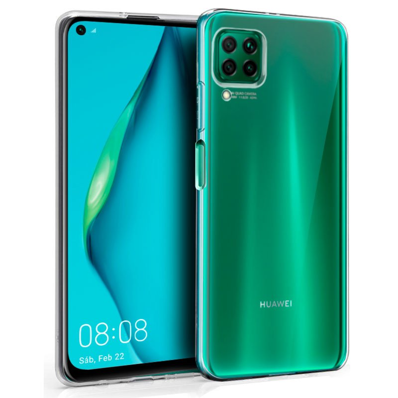Funda Silicona Huawei P40 Lite (Transparente)
