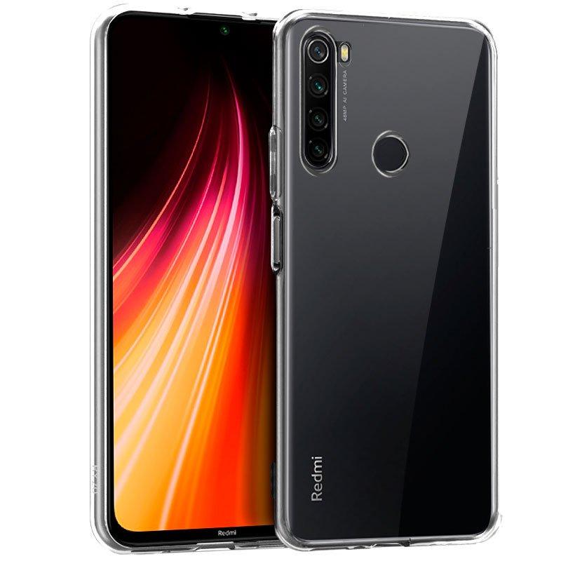 Funda Silicona Xiaomi Redmi Note 8 (Transparente)