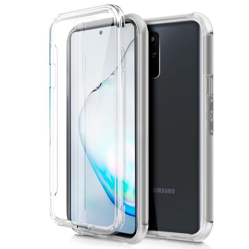 Funda Silicona 3D Samsung N770 Galaxy Note 10 Lite (Transparente Frontal + Trasera)