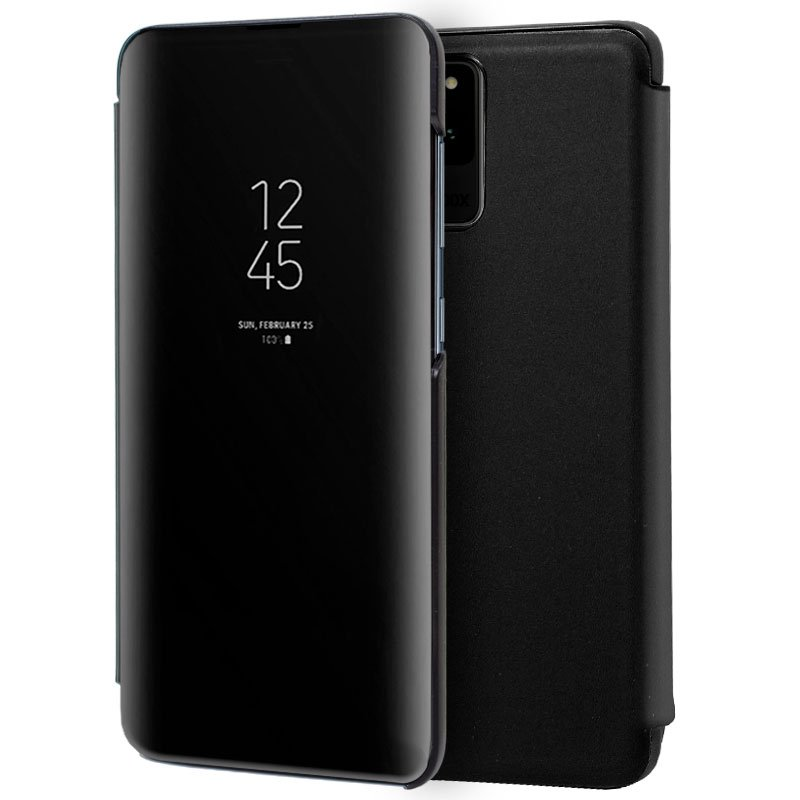 Funda Flip Cover Samsung G988 Galaxy S20 Ultra 5G Clear View Negro
