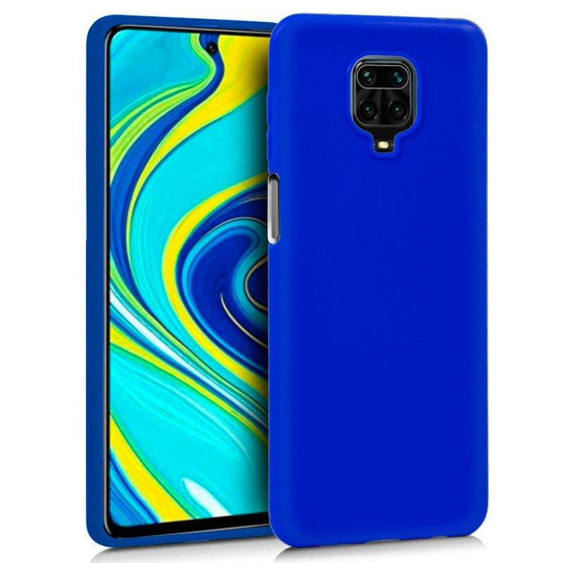 Funda COOL Silicona para Xiaomi Redmi Note 9S / Note 9 Pro (Azul)