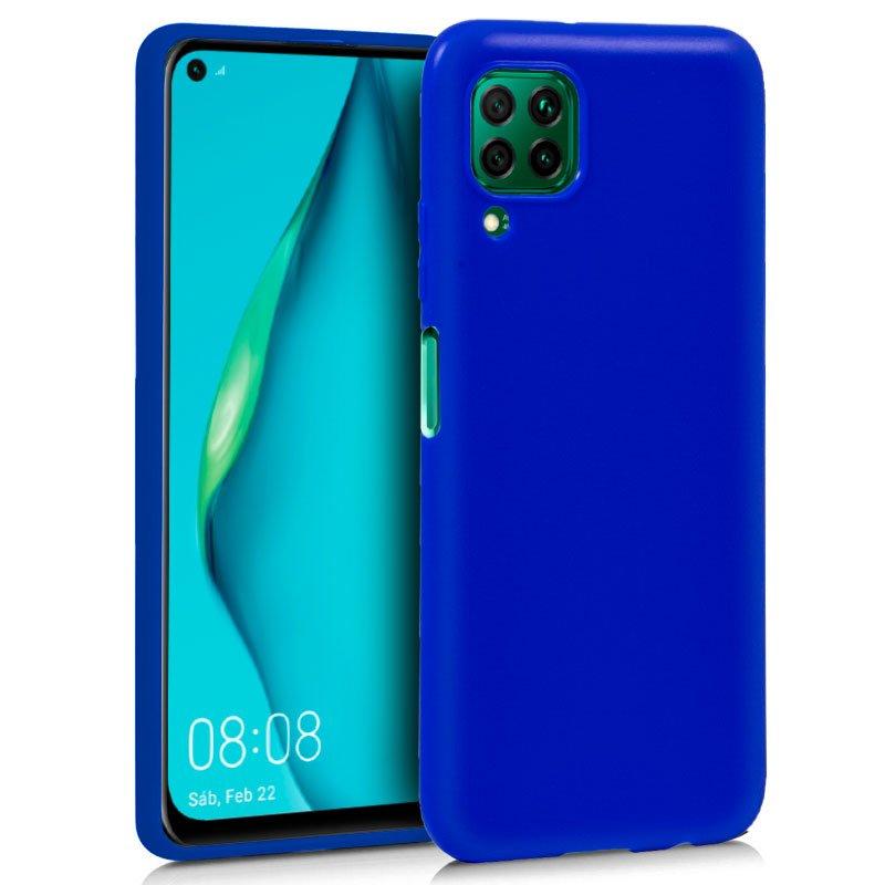Funda Silicona Huawei P40 Lite (Azul)
