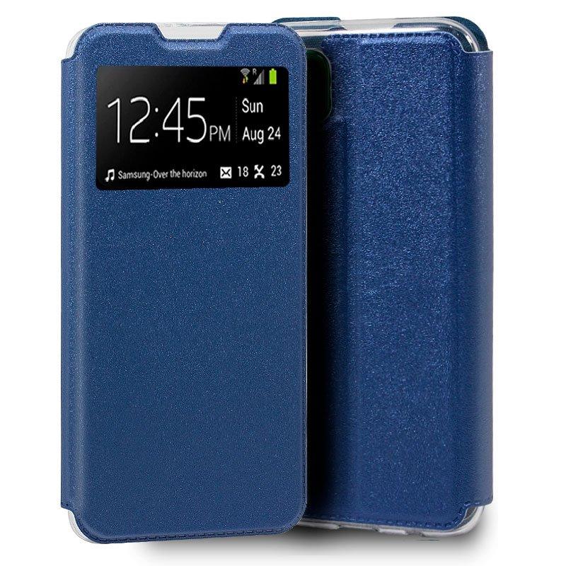 Funda Flip Cover Huawei P40 Lite Liso Azul