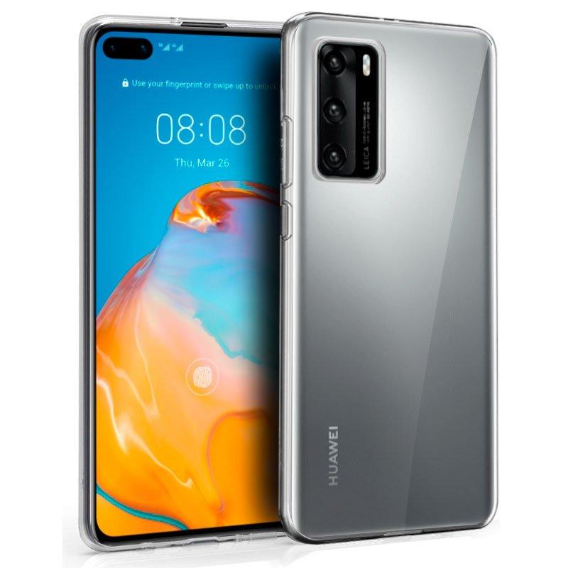 Funda Silicona Huawei P40 Pro (Transparente)