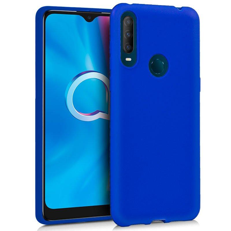 Funda Silicona Alcatel 1S (2020) / Alcatel 3L (2020) Azul