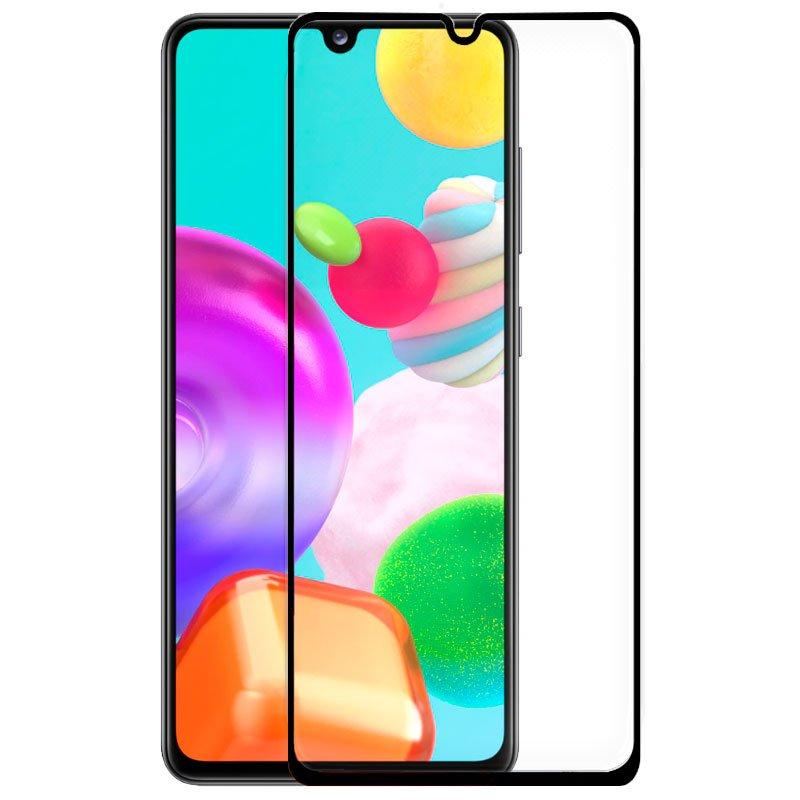Protector Pantalla Cristal Templado Samsung A415 Galaxy A41 (FULL 3D Negro)