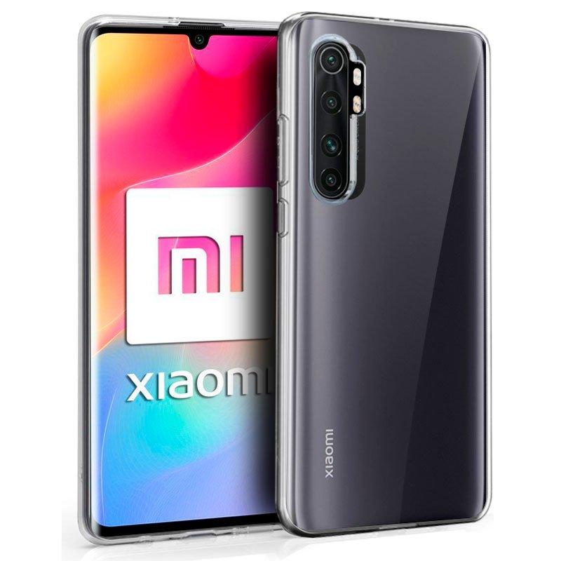 Funda Silicona Xiaomi Mi Note 10 Lite (Transparente)