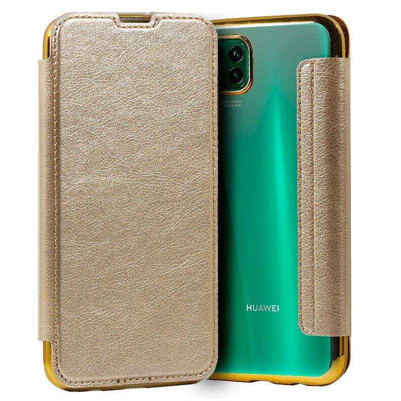 Funda Flip Cover Huawei P40 Lite Leather Dorado