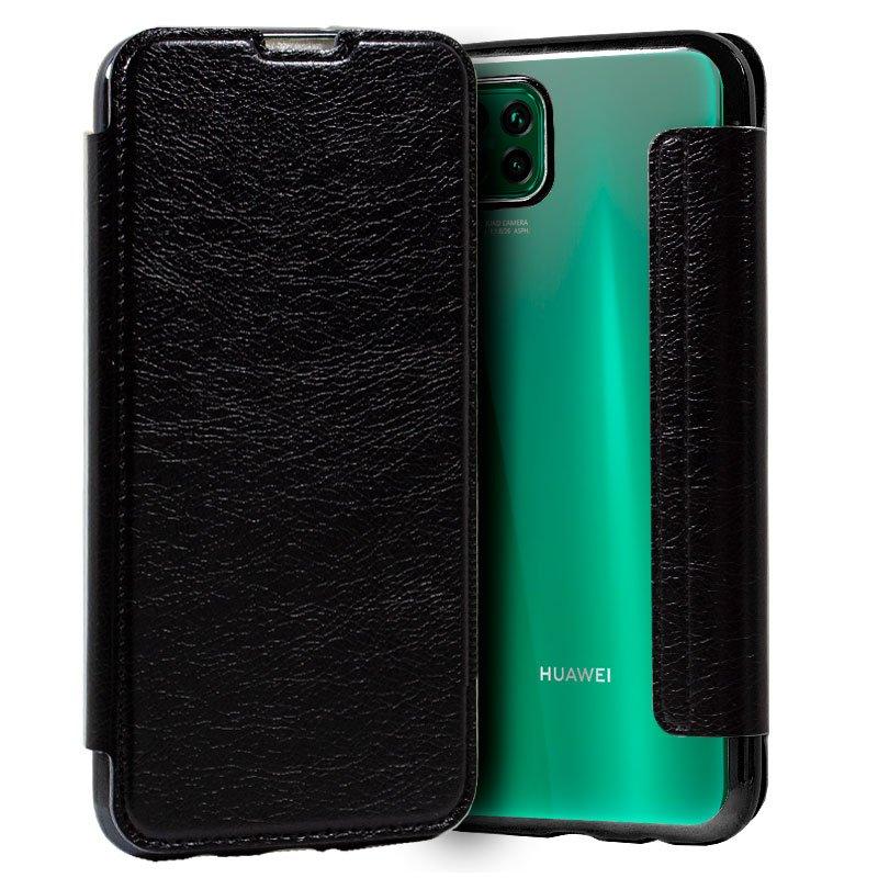 Funda Flip Cover Huawei P40 Lite Leather Negro