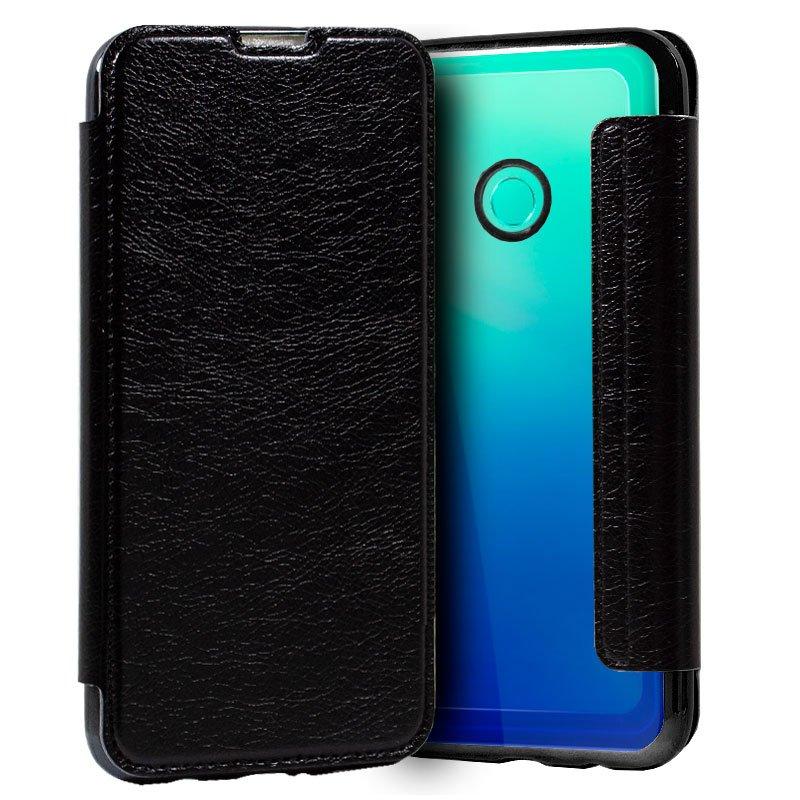Funda Flip Cover Huawei P40 Lite E Leather Negro