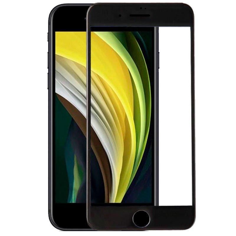 Protector Pantalla Cristal Templado iPhone SE (2020) (FULL 3D Negro)