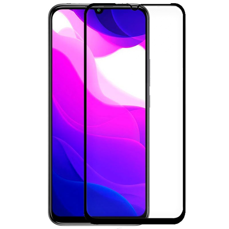 Protector Pantalla Cristal Templado Xiaomi Mi 10 Lite (FULL 3D Negro)
