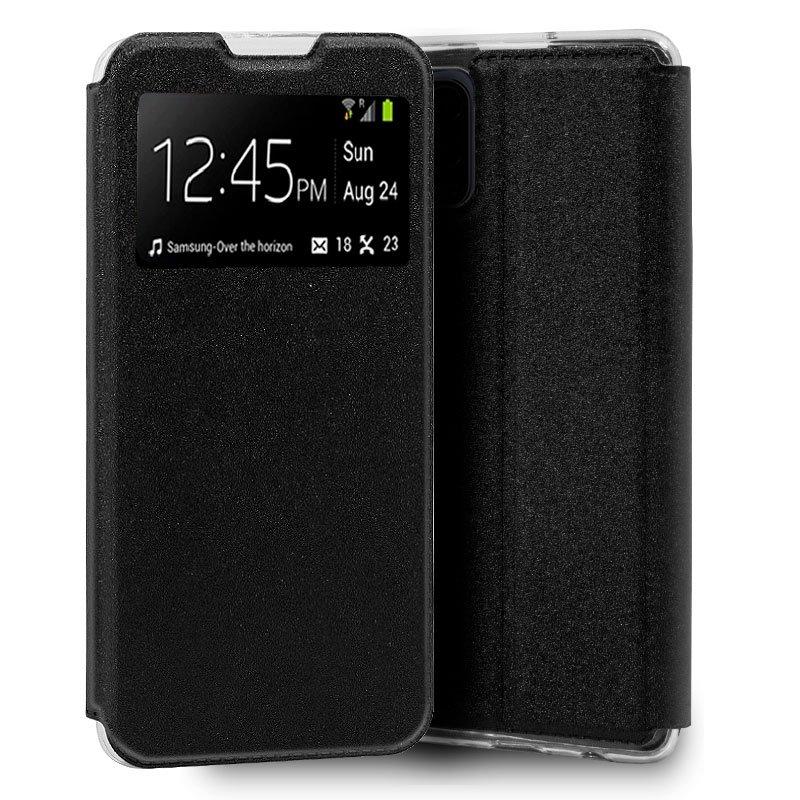 Funda Flip Cover Xiaomi Mi 10 Lite Liso Negro