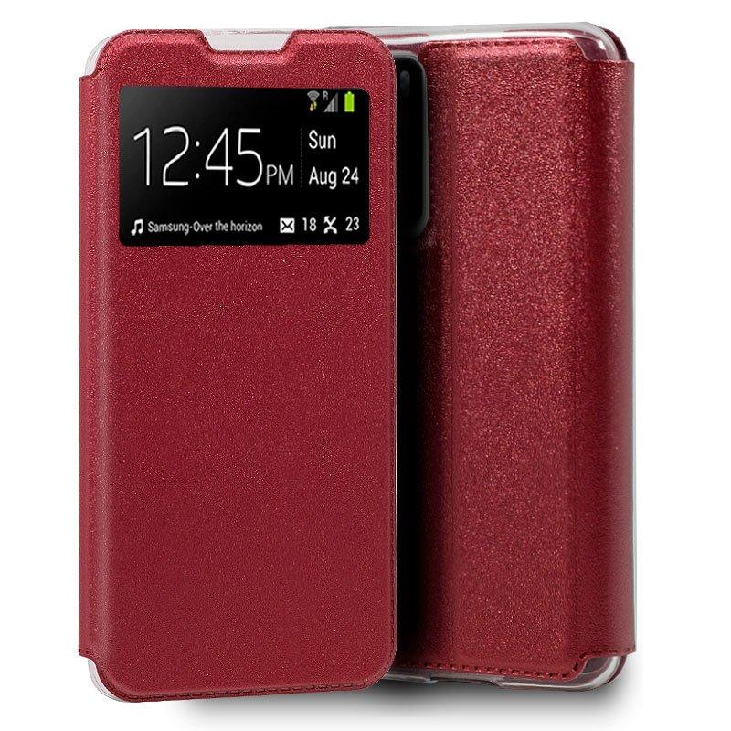 Funda Flip Cover Huawei P40 Liso Rojo