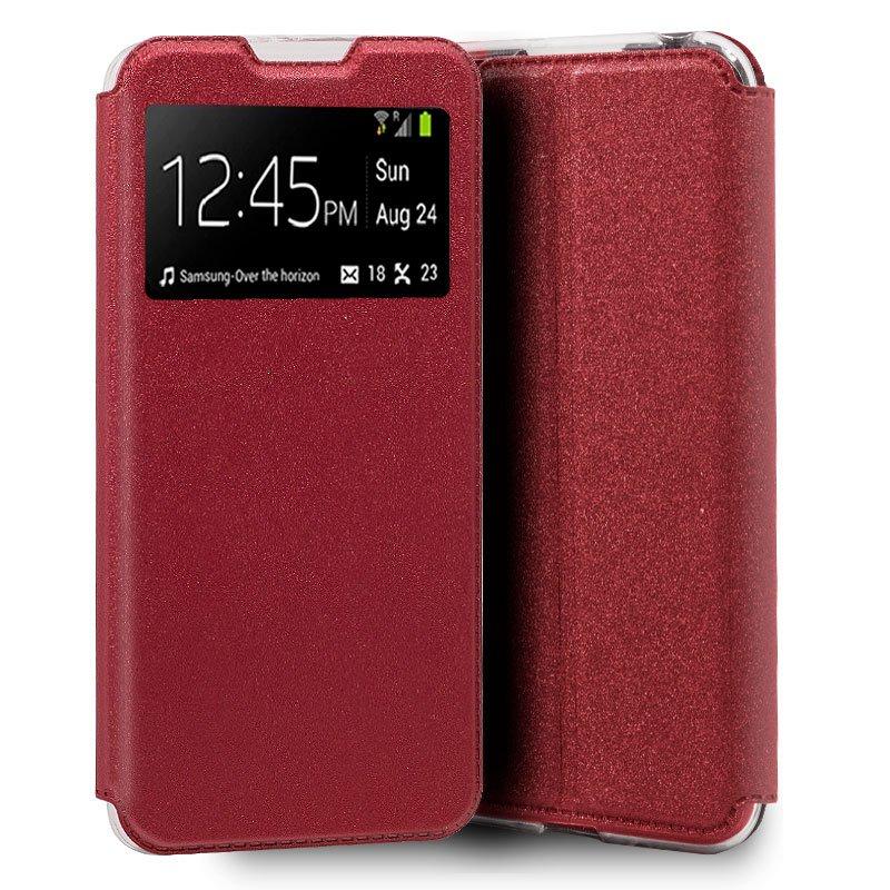Funda Flip Cover Realme 6 / 6s Liso Rojo