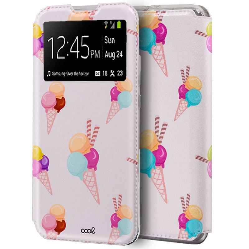 Funda Flip Cover Huawei P40 Lite Dibujos Helados