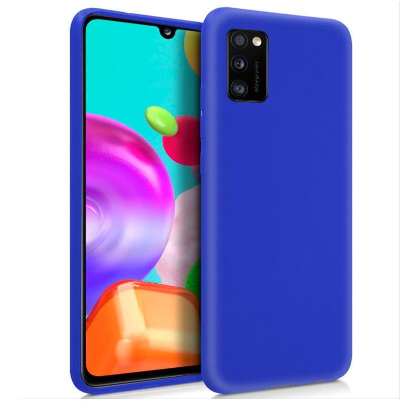 Funda Silicona Samsung A415 Galaxy A41 (Azul)