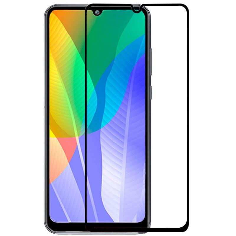 Protector Pantalla Cristal Templado Huawei Y6p (FULL 3D Negro)