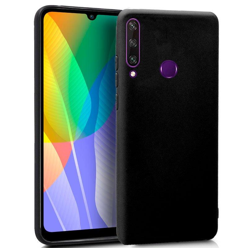 Funda Silicona Huawei Y6p (Negro)