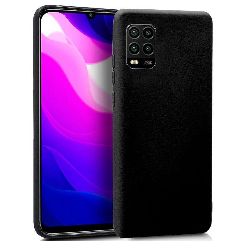 Funda Silicona Xiaomi Mi 10 Lite (Negro)