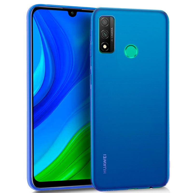Funda Silicona Huawei P Smart 2020 (Azul)