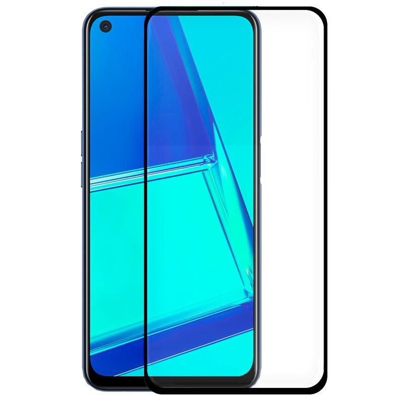 Protector Pantalla Cristal Templado Oppo A52 / A72 / A92 / Realme 6 Pro (FULL 3D Negro)