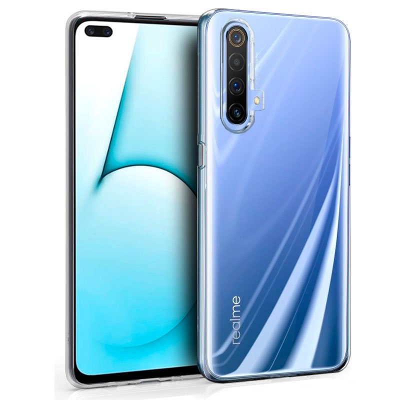 Funda Silicona Realme X50 / X3 SuperZoom (Transparente)
