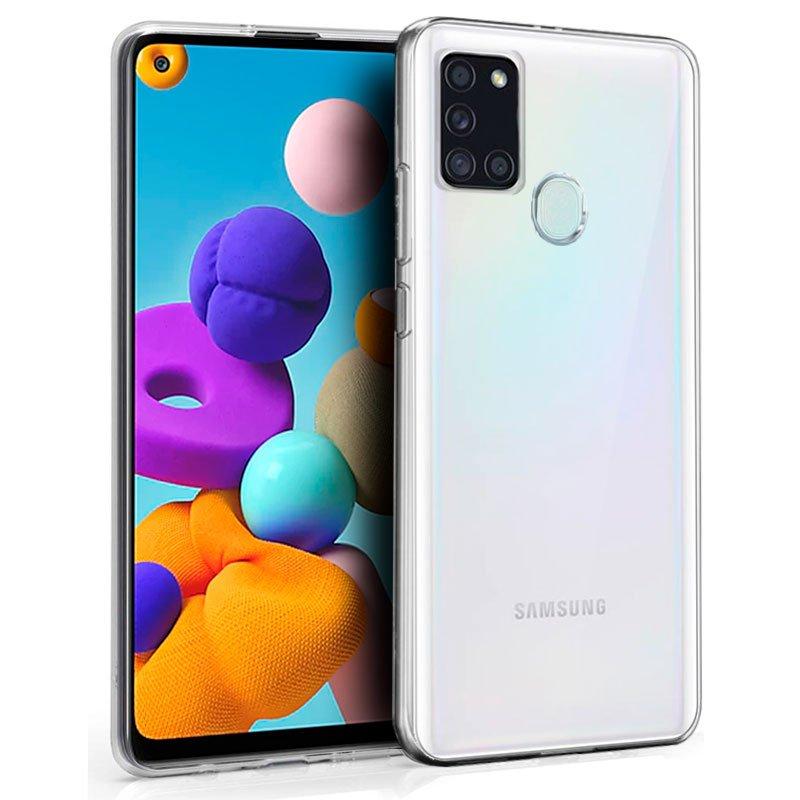 Funda Silicona Samsung A217 Galaxy A21s (Transparente)