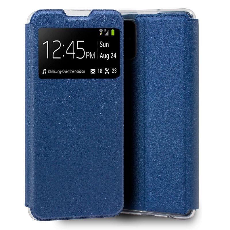 Funda Flip Cover Samsung A516 Galaxy A51 5G Liso Azul