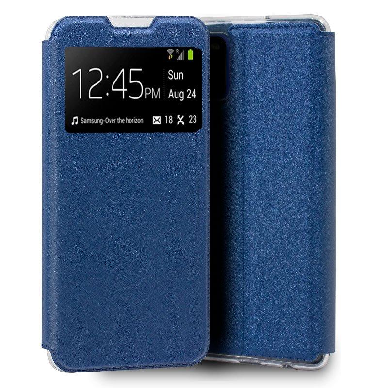 Funda Flip Cover Samsung A315 Galaxy A31 Liso Azul
