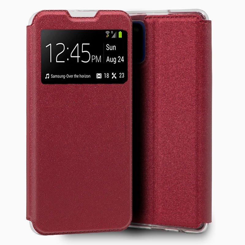 Funda Flip Cover Samsung A315 Galaxy A31 Liso Rojo
