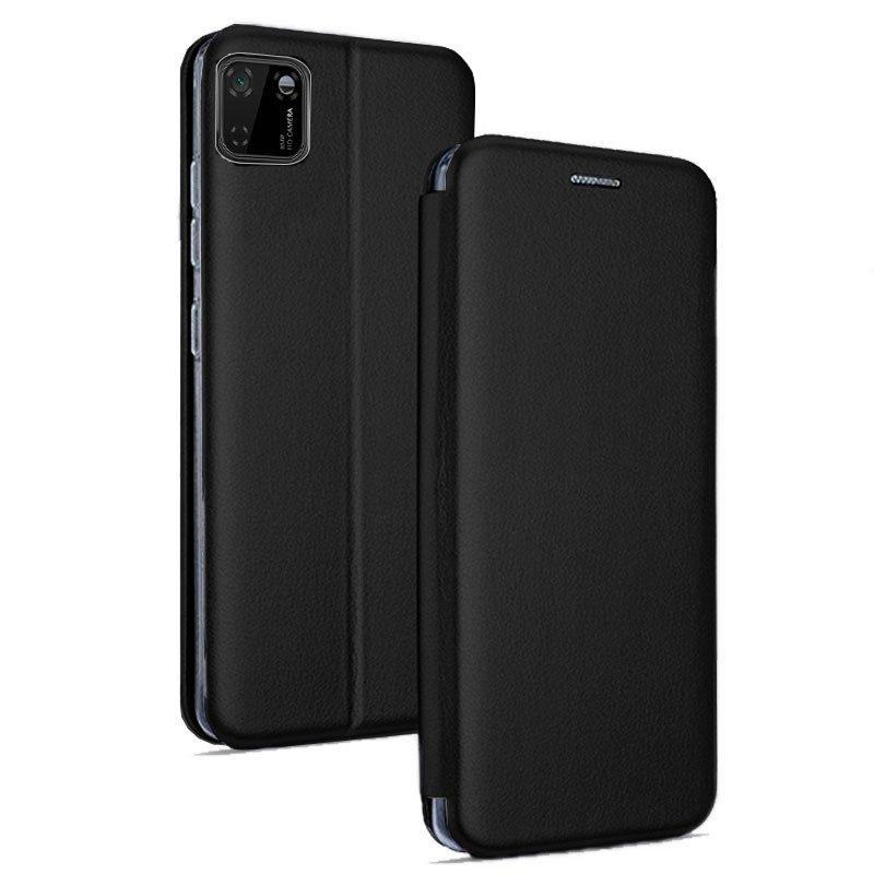 Funda Flip Cover Huawei Y5p Elegance Negro