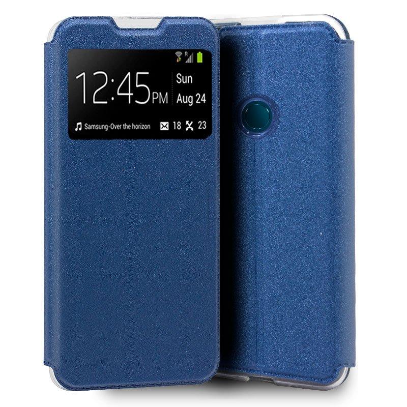 Funda Flip Cover Alcatel 1S (2020) / Alcatel 3L (2020) Liso Azul
